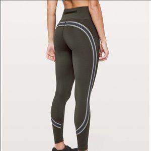 Run Crew Tight Nulux fabric high rise leggings NEW